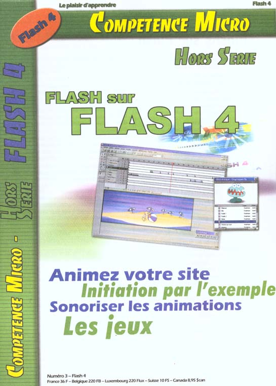 FLASHS SUR FLASH 4 CPM
