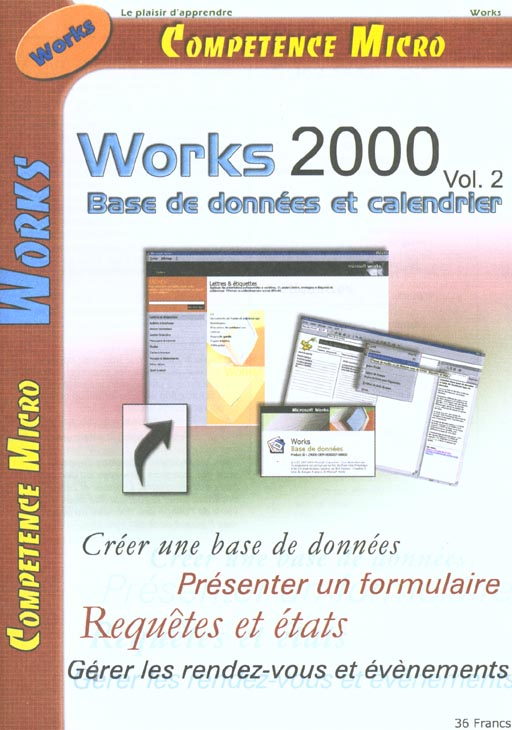 WORKS 2000 VOL.2 BASE DE DONNEES CPM