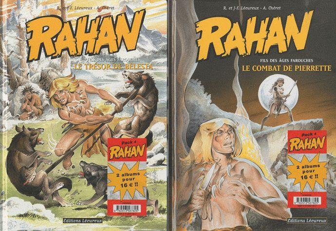RAHAN - PACK NOEL T7+T8