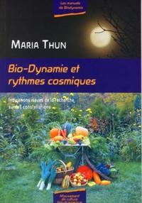 BIO-DYNAMIE ET RYTHMES COSMIQUES. INDICATIONS ISSUES DE LA RECHERCHE SUR LES CON