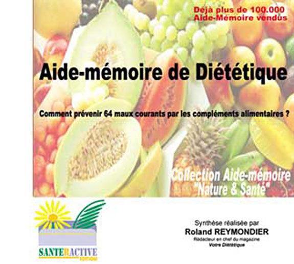AIDE MEMOIRE DE DIETETIQUE