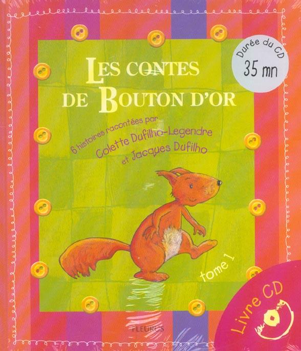 CONTES DE BOUTON D'OR (LES) (LIVRE+CD)