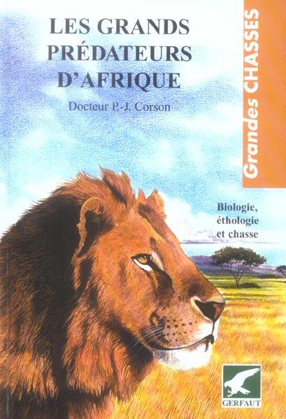 GRANDS PREDATEURS D'AFRIQUE