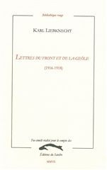 LETTRES DU FRONT ET DE LA GEOLE (1916-1918)