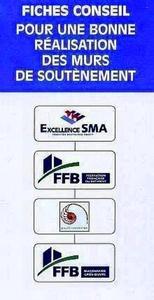FICHES CONSEIL POUR UNE BONNE REALISATION DES MURS DE  SOUTENEMENT