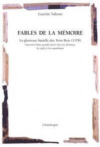 FABLES DE LA MEMOIRE
