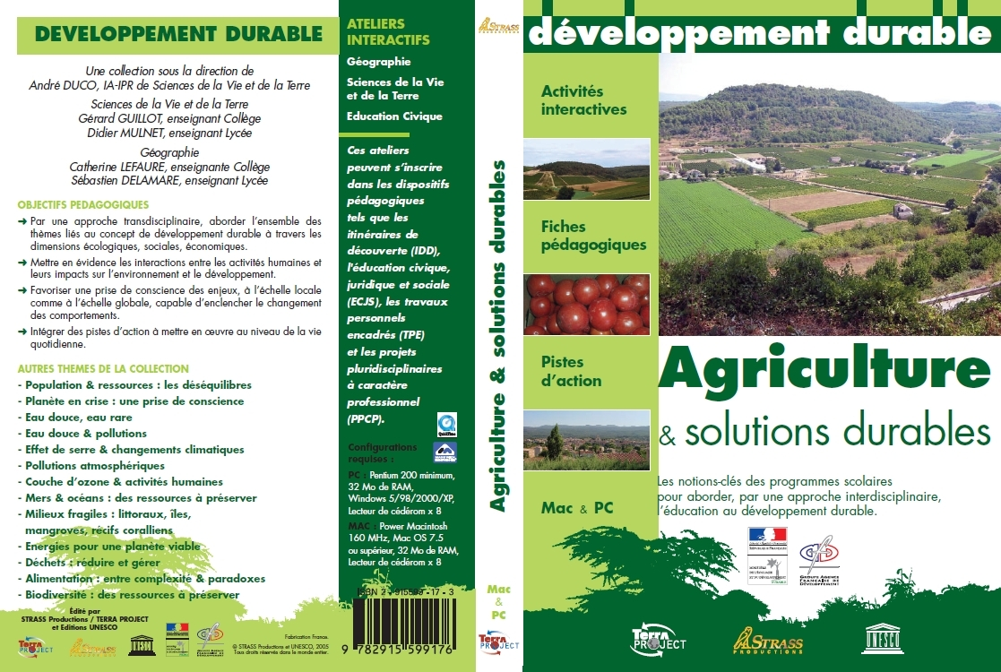 AGRICULTURE & SOLUTIONS DURABLES
