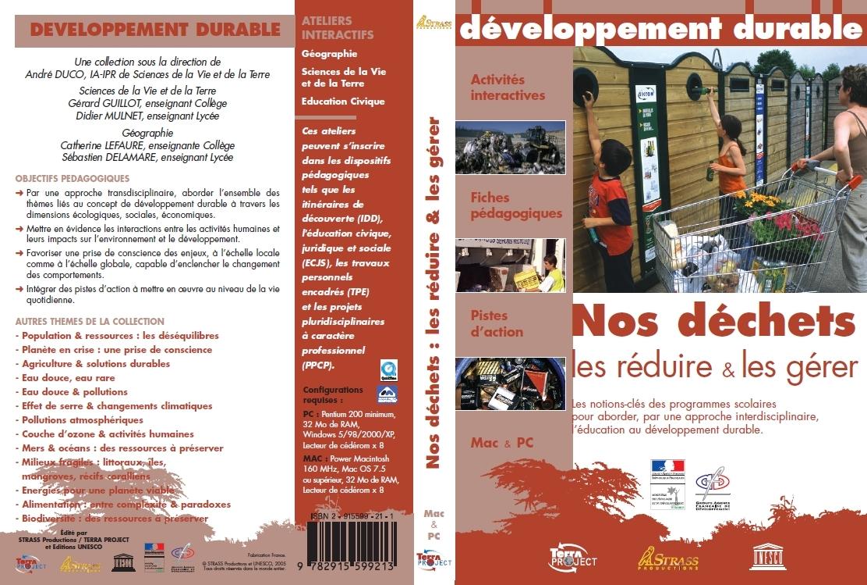 NOS DECHETS, LES REDUIRE & LES GERER - LES ENJEUX DU D. D 14 CD - LICENCE BIBLIOTHEQUE+PRET
