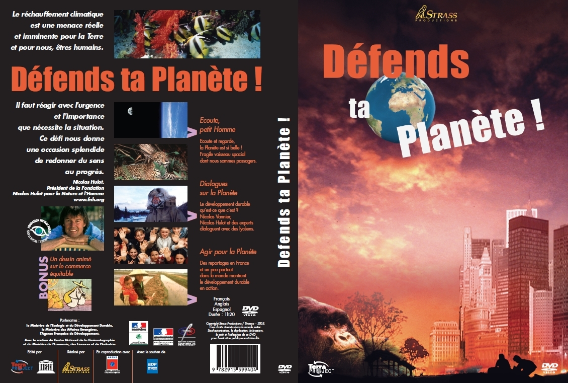 DVD - DEFENDS TA PLANETE - DOCUMENTAIRE - LICENCE BIBLIOTHEQUE+PRET