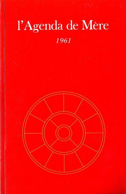 AGENDA DE MERE - TOME 2 - 1961 - NE