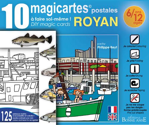 10 MAGICARTES  POSTALES ROYAN