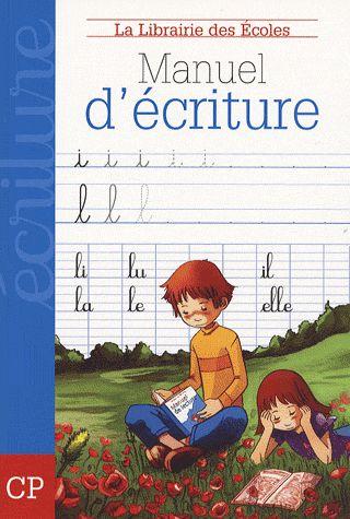 CAHIER D'ECRITURE CP