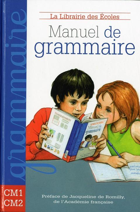 MANUEL DE GRAMMAIRE CM1 CM2