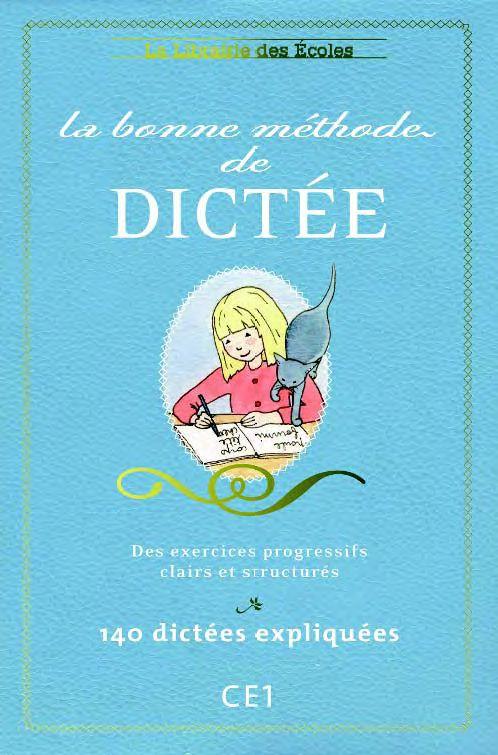BONNE METHODE DE DICTEE CE1 (LA)