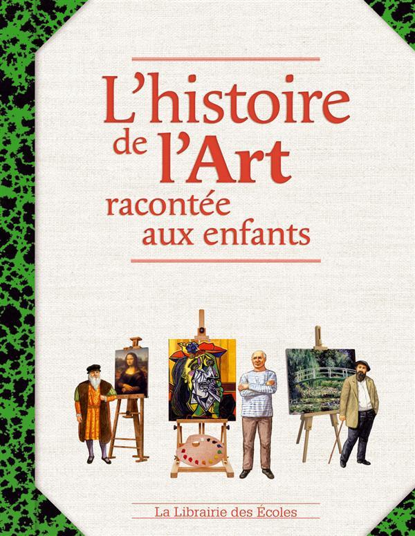 HISTOIRE DE L'ART RACONTEE AUX ENFANTS (L)