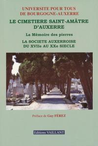 CIMETIERE ST-AMATRE. -LIV-D'AUXERRE