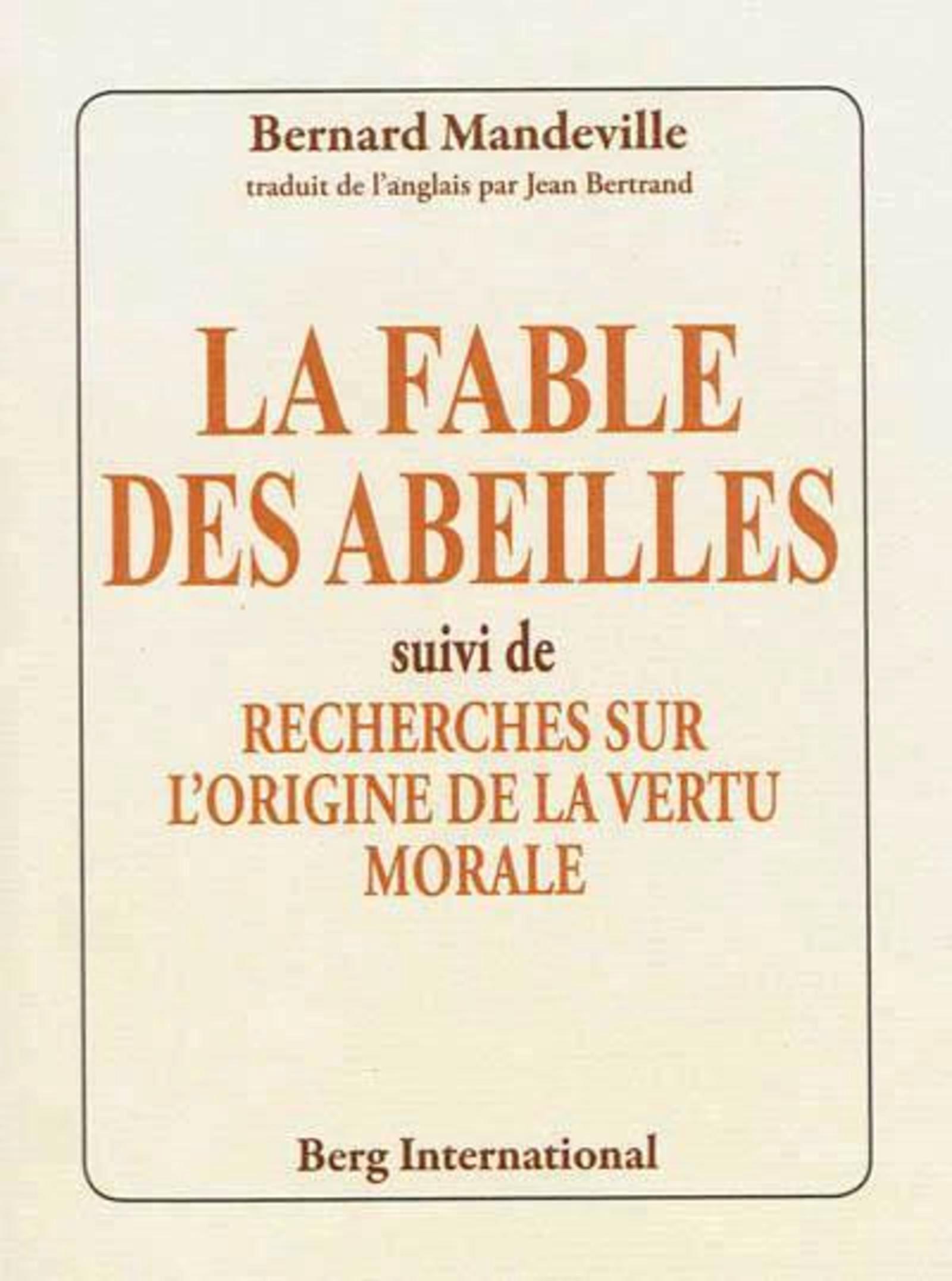 FABLE DES ABEILLES
