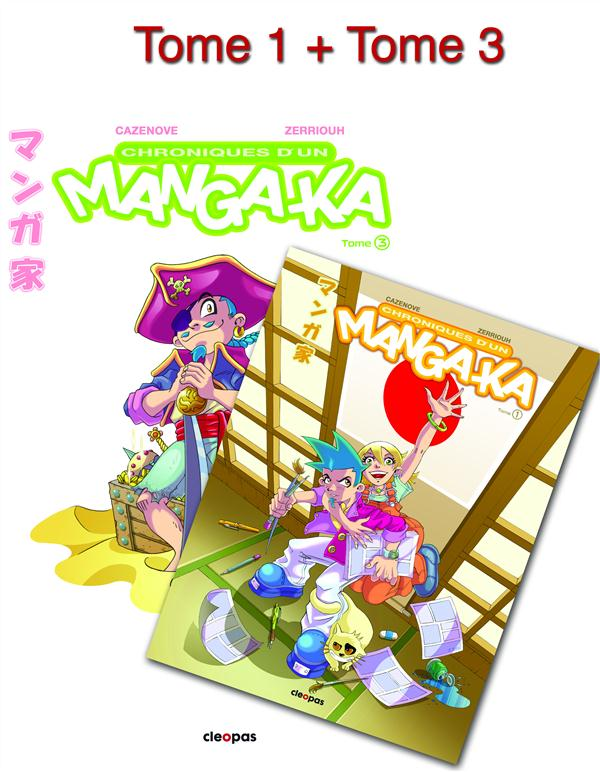PACK CHRONIQUE MANGA-KA T3 + T1