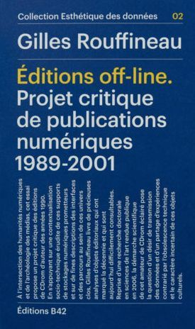 EDITIONS OFF-LINE (1989-2001)