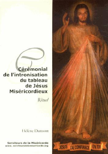 CEREMONIAL DE L'INTRONISATION DU TABLEAU DE JESUS MISERICORDIEUX