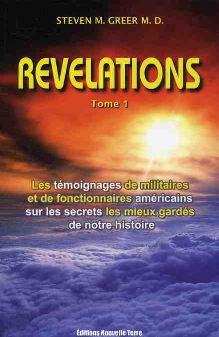 REVELATIONS - TOME 1 - NOUVELLE EDITION