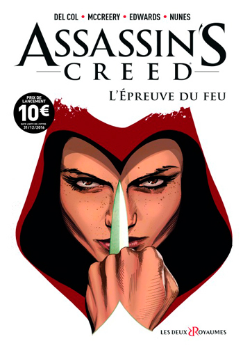 BANDE DESSINEE T1 COMICS ASSASSIN'S CREED T1