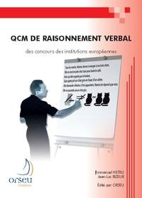 QCM DE RAISONNEMENT VERBAL DES CONCOURS DES INSTITUTIONS EUROPEENNES
