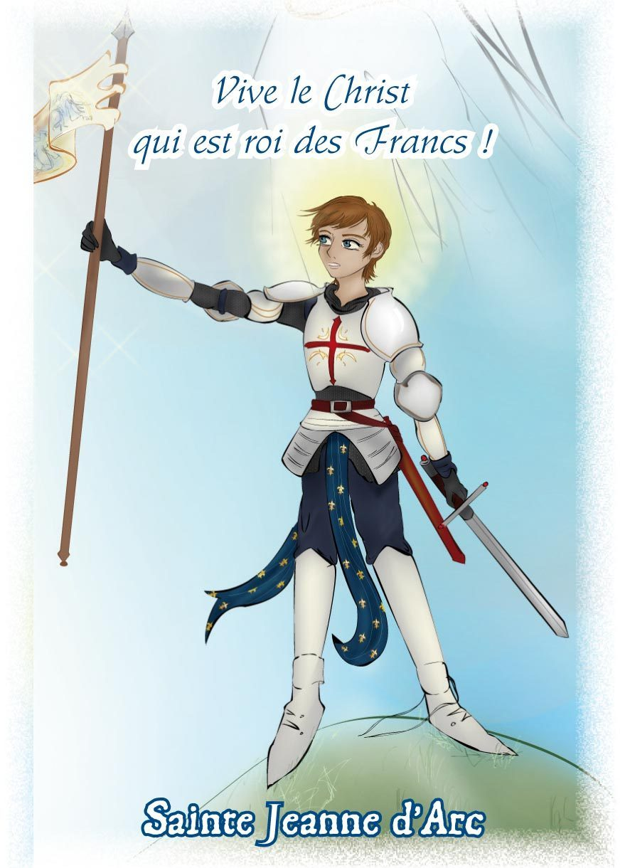 "IMAGES SAINTES ""JEANNE D'ARC"" PAR LOT DE 10"