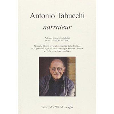 ANTONIO TABUCCHI NARRATORE - NED