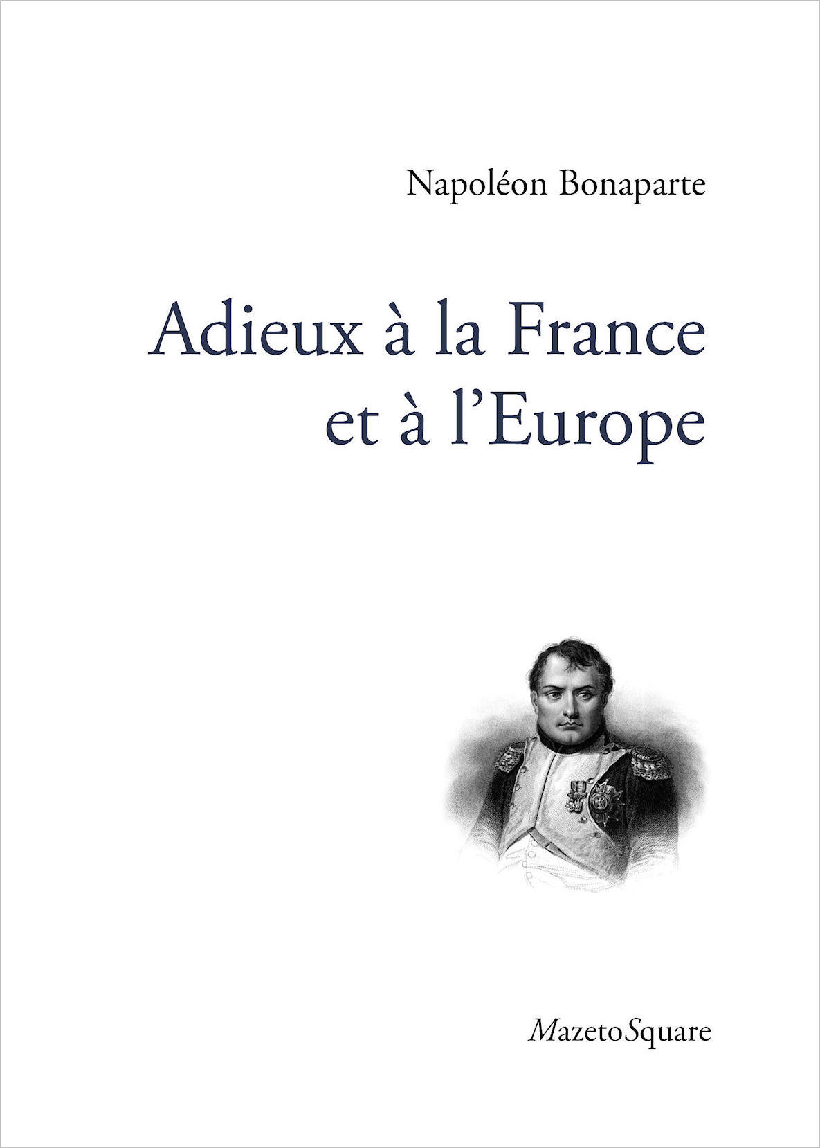 ADIEUX A LA FRANCE ET A L'EUROPE