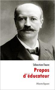 PROPOS D'EDUCATEUR