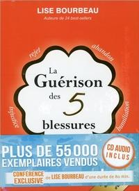 LA GUERISON DES 5 BLESSURES - LIVRE + CD