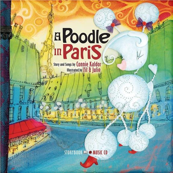A POODLE IN PARIS - LIVRE + CD