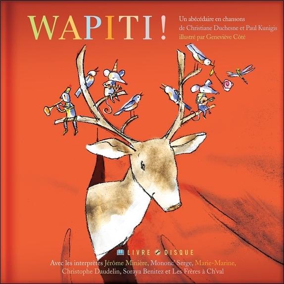 WAPITI ! - LIVRE + CD