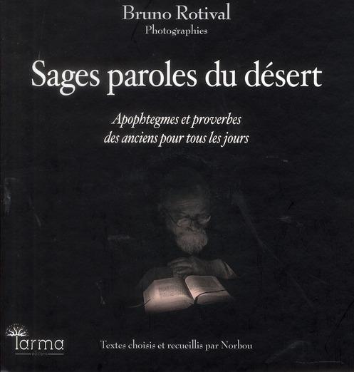 SAGES PAROLES DU DESERT