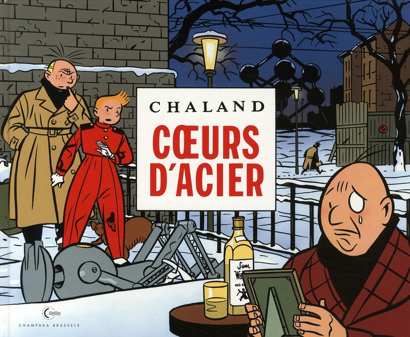 CHALAND SPIROU ET FANTASIO - COEURS D'ACIER