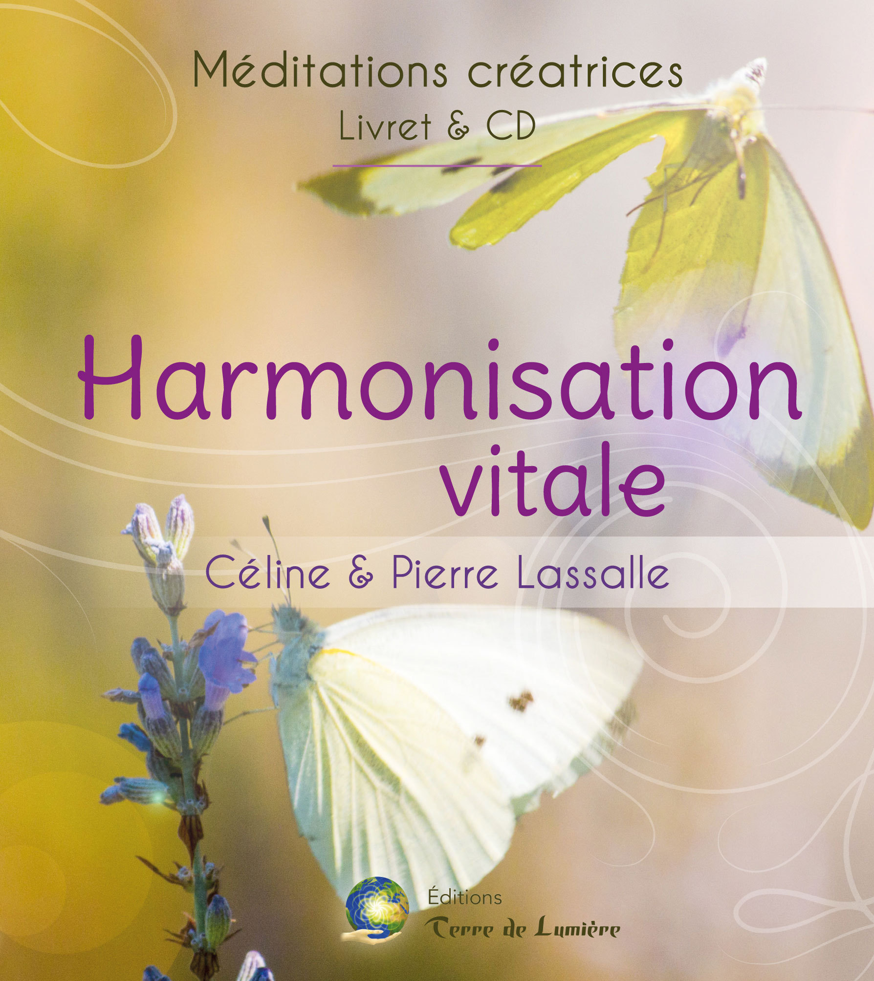HARMONISATION VITALE - MEDITATIONS CREATRICES - LIVRET + CD