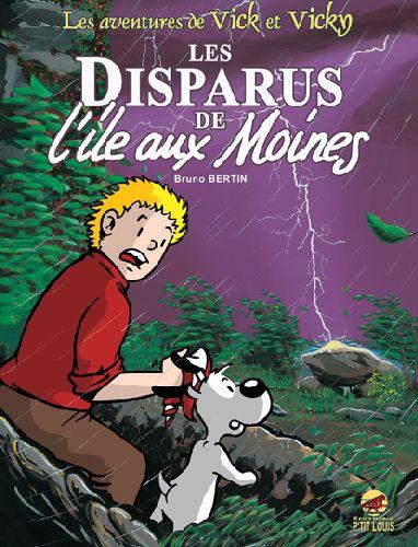 VICK ET VICKY T.3 - LES DISPARUS DE L'ILE AUX MOINES