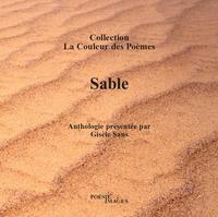 SABLE COLLECTION LA COULEUR DES POEMES ANTHOLOGIE DE 17 POETES CONTEMPORAINS