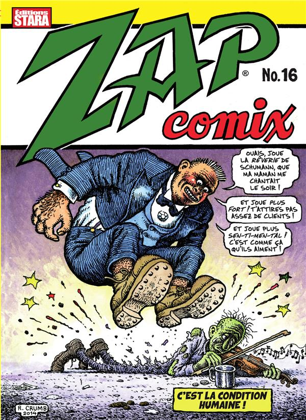 ZAP COMIX N 16