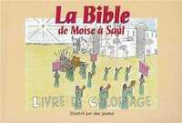 BIBLE DE MOISE A SAUL COLORIAGE