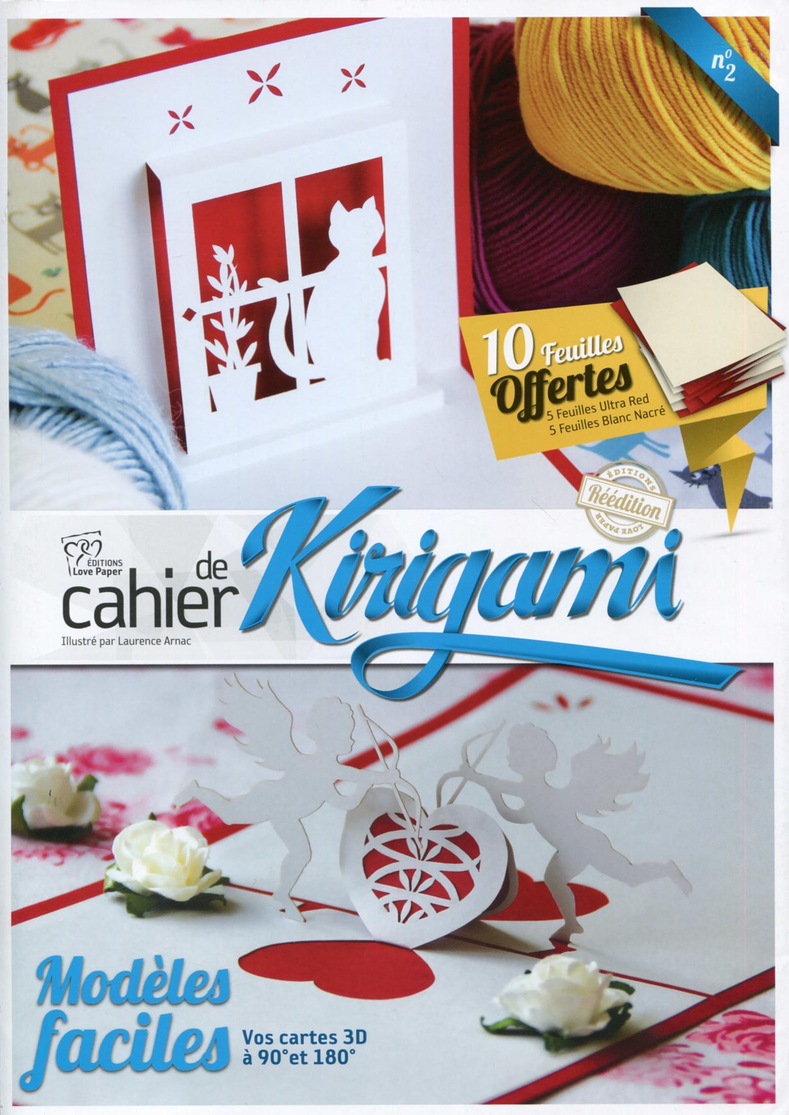 CAHIER DE KIRIGAMI NO 2  41 MODELES FACILES