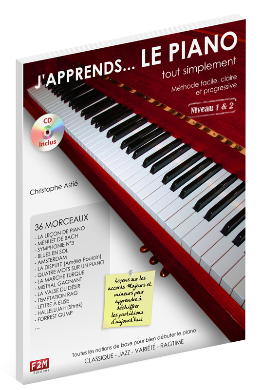 J'APPRENDS LE PIANO TOUT SIMPLEMENT VOL 1 + CD