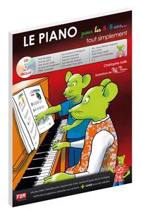 LE PIANO POUR LES 5/8 ANS + CD