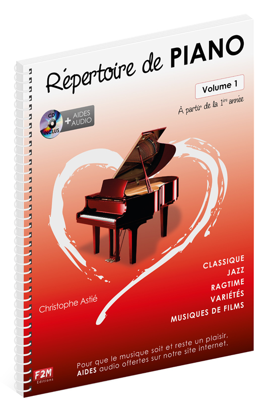 REPERTOIRE DE PIANO VOL 1 + CD