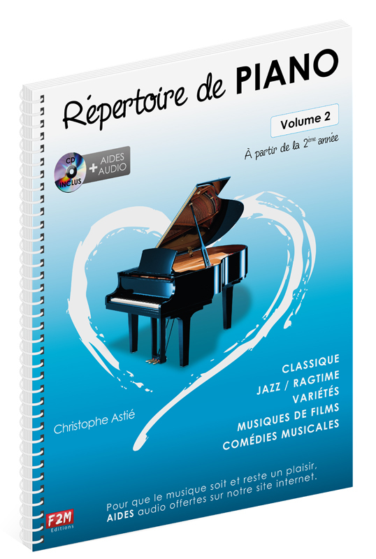 REPERTOIRE DE PIANO VOL 2 + CD