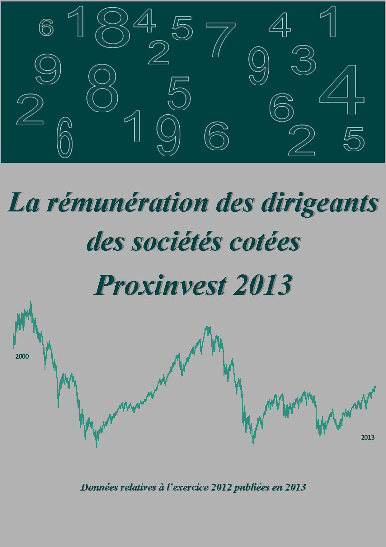 LA REMUNERATION DES DIRIGEANTS DES SOCIETES COTEES 2013