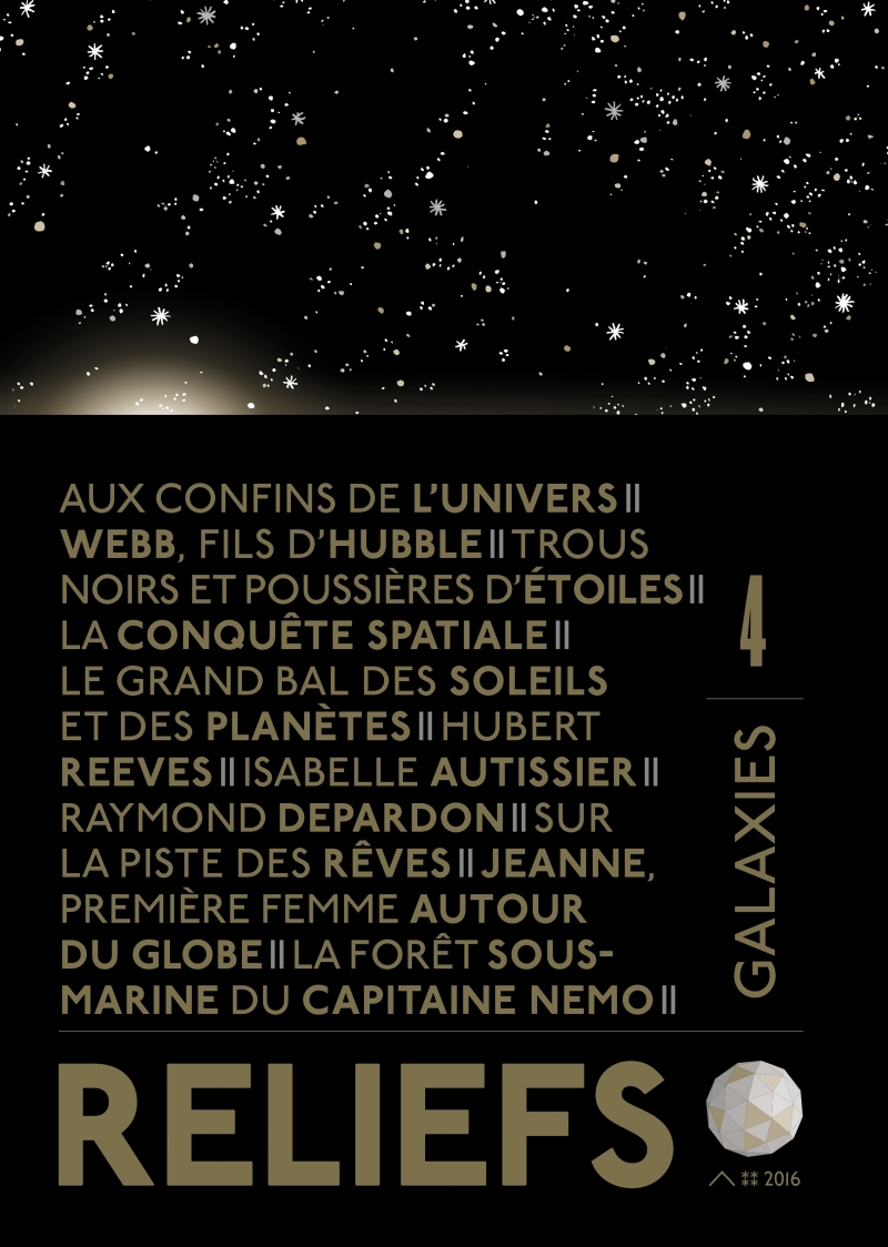 REVUE RELIEFS N 4 - GALAXIES