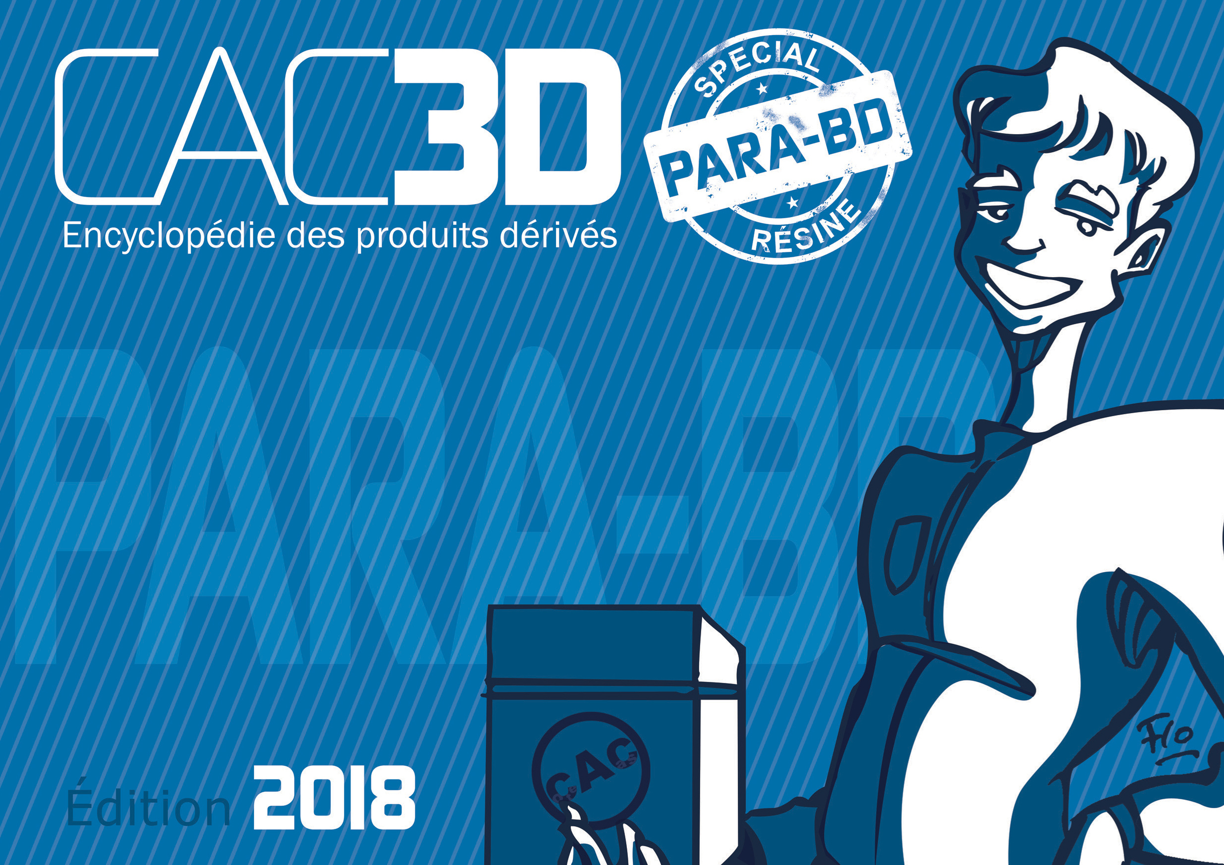 CAC3D PARA-BD RESINE 2018