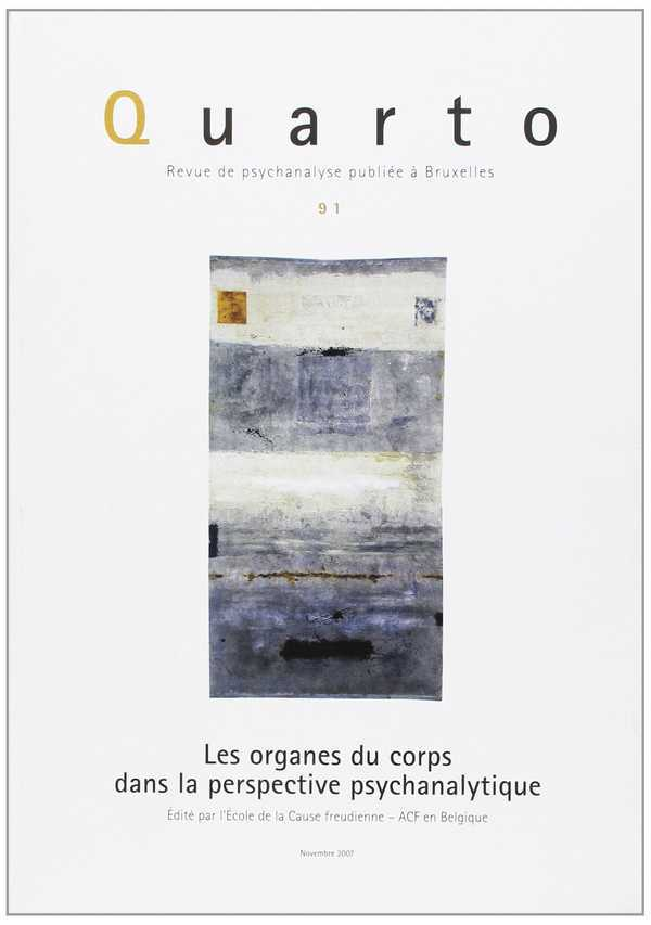 QUARTO 91 - LES ORGANES DU CORPS
